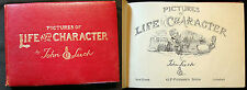 CIRCA 1900 JOHN LEECH HUMOROUS PICTURES OF LIFE AND CHARACTER SPORTING + ENGLAND