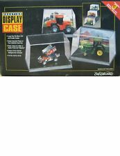 1996 discountinued ERTL 1/64 PRESTIGE DISPLAY 3 car figure CASE  new in the box