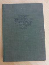 Zeitschrift des deutschen und österreichischen Alpen-Vereins von 1929