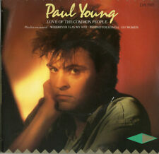 """PAUL YOUNG - LOVE OF THE COMMON PEOPLE - DOUBLE DISC - PS - 80's - 7"""" VINYL"""