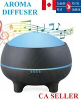 300 ml Aroma Diffuser Aromatherapy Essential Ultrasonic Oil Air Purifier CA