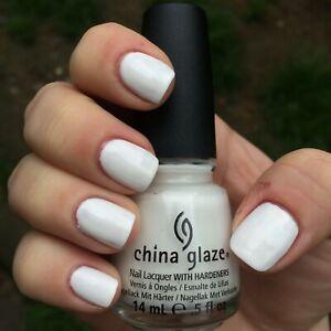 """China Glaze Pro Polish """"WHITE ON WHITE""""  11J"""