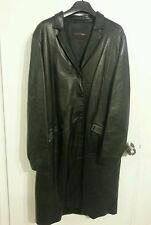BALLY Women's Designer Lambskin Leather Coat SZ 48