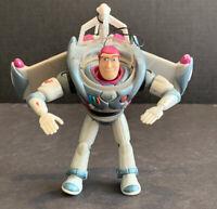 "Vintage 5"" Buzz Lightyear Shooting Grappling Hook Projectile Pixar Action Figure"