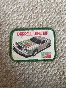 Darrell Waltrip #11 Mountain Dew Racing Embroidered NASCAR Patch