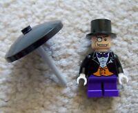 LEGO Batman - Rare Original - Classic Penguin Minifig w/ Umbrella - From 7885