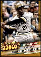 Roberto Clemente 2020 Topps Decade's Best Series 2 5x7 Gold #DB-29 /10 Pirates