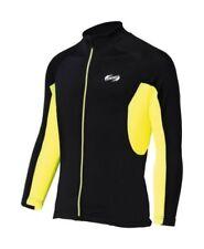 Maillots jaune taille L pour cycliste Homme