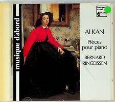 Bernard Ringeissen- Plays ALKAN Piano Pieces Sonatine/Zorcico etc CD 1988, 1977