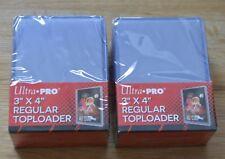 "Ultra Pro 50 Regular Toploader 3"" x 4"" Ultra Clear für Yu-Gi-Oh!, Magic usw."