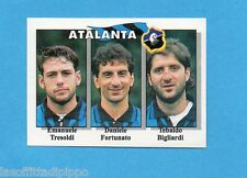 CALCIO FLASH '95-EUROFLASH-Figurina n.334- TRESOLDI+FORTUNATO+BIGL.-ATALANTA-NEW