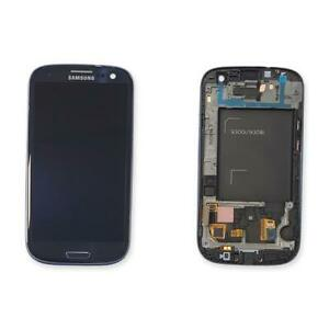 DISPLAY LCD VETRO TOUCH SCREEN ORIGINALE SAMSUNG GALAXY S3 NEO GT-I9301I BLU