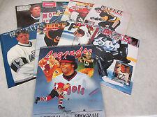 Beckett Hockey Magazine #1, 2, 9, 10, 12, 16, 17 & 26 Lot of 9 ~ Wayne Gretzky