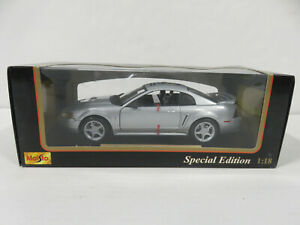 1999 MUSTANG GT 1:18 Scale Maisto Special Edition Metal Die-Cast Car NIB!