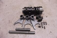 1982 Suzuki RS175 PE175 SM355B. Engine transmission shift drum and forks