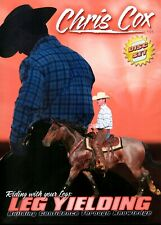 Chris Cox Riding with Your Legs (Leg Yielding) Horsemanship 2 Dvd set