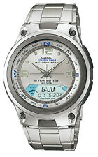 Casio AW82D-7A Men's Analog Digital Chronograph Alarm Fishing Gear Sports Watch