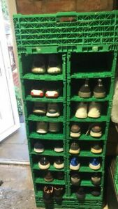 Shoe Storage Rack System - X10 COMPARTMENT SECTION - INCREASE/DECREASE AT WILW