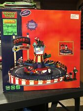 Lemax Spooky Town - 2016 - ZOMBIE PLANE RIDE - Carnival - Brand New -