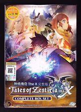*NEW* TALES OF ZESTIRIA THE X *13 EPISODES*ENGLISH SUBTITLES*ANIME DVD*US SELLER