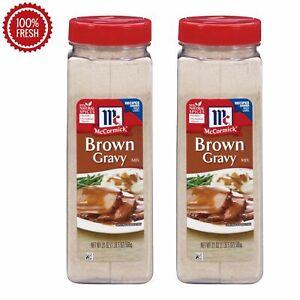 McCormick Brown Gravy Mix (21 oz.) - 2 PACK