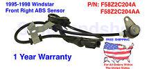 New ABS Wheel Speed Sensor fits 1995-1998 Windstar Front Passenger Side FR