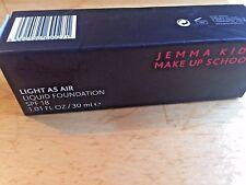 Jemma Kidd Make Up School  Light as Air Liquid Foundation SPF 18 in Dark RRP £25