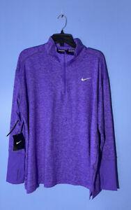 RARE!! Nike Women's Dry Element Long Sleeve Running Top AO8125 550 Plus Size 2X