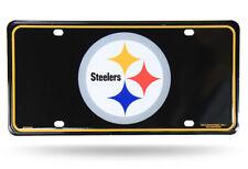Pittsburgh Steelers Logo Design Metal License Plate Tag