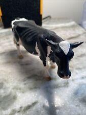 """Schleich 2007 4.5"""" Cow Black/White, Holstein Retired, Toy, Figurine"""