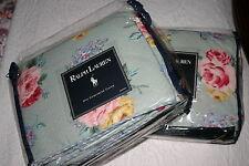 Ralph Lauren COTTAGE Lane TWIN DUVET or Comforter COVER & BEDSKIRT & Bonus 3PC
