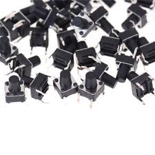 50pcs 6*6*8mm Tactile Push Button Switch Tact Switch Micro Switch 4-Pin VJ