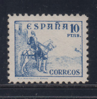 ESPAÑA (1937) NUEVO SIN FIJASELLOS MNH SPAIN - EDIFIL 830 (10 pts) CID - LOTE 1