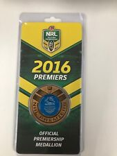 2016 Cronulla Sharks Premiership medallion SOLD OUT