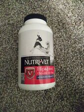 New listing Nutri-Vet Hip & Joint Advanced Strength Chewables for Dogs 150 Count Exp 11/21