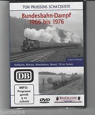 Bundesbahn-Dampf 1966 bis 1976 << TON PRUISSENS Schatzkiste >>