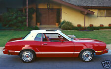 1974 Ford Mustang II Ghia, Red/White, Refrigerator Magnet