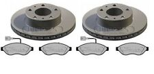 PEUGEOT BOXER 1700KG VAN  BRAKE DISCS AND PADS - 280MM MUST READ DESCRIPTION