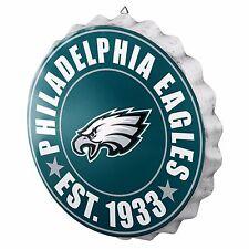 """Philadelphia Eagles Bottle Cap Sign - Est 1933 - Room Bar Decor NEW 13.5"""""""