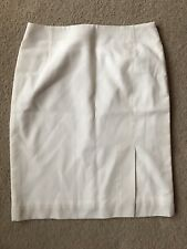 Custom Made Pencil Skirt Based On Satch Brand SiZe 8 Ivory Work Office
