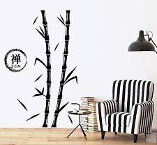 Wall Decal Tree Bamboo Zen Enso Circle Vinyl Sticker (z3639)