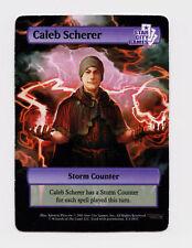 SCG Caleb Scherer Storm Counter - Star City Games MTG Magic the Gathering Token