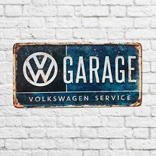 Volkswagen Garage sign, Volkswagen sign, garage signs tin, garage decor, garage