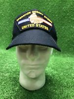 Vintage Operation Desert Storm SnapBack United States Hat Cap Fast Free Shipping