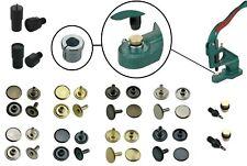 Hohlnieten, Hohlniet-Werkzeuge, Adapter-Aufnahme, Leder, Textilien, Taschen