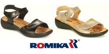Romika shoes Germany- Orthotic friendly comfort leather Sandals Ibiza 73