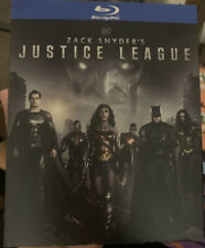 Dc Zack Snyder's Justice League (Blu-Ray) 🔥With Slipcover New Sealed