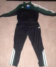 2000 Adidas Europe Worksuit Green/Black Men's Medium NWT 2 piece set