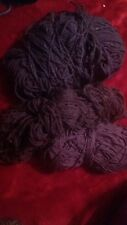 bundle of purple wool approx 372grams
