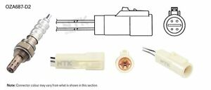 NGK NTK Oxygen Lambda Sensor OZA687-D2 fits Ford LTD 4.0 (AU), 5.0 V8 (AU), 5...